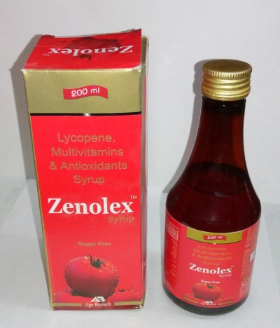 LYCOPENE, MULTIVITAMIN,MINERALS & ANTIOXIDANTS SYRUP