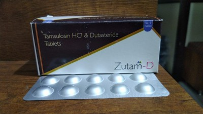 TAMSULOSIN HCL & DUTASTERIDE TABELTS