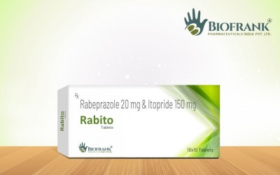 RABEPRAZOLE 20MG & ITOPRIDE 150MG TABLETS IP