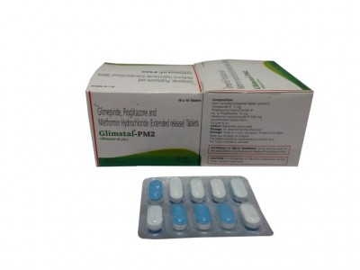 GLIMEPIRIDE, PIOGLITAZONE AND METFORMIN HYDROCHLORIDE (EXTENDED RELEASE) TABLETS