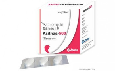 Azithromycin Dihydrate I.P. 500 mg
