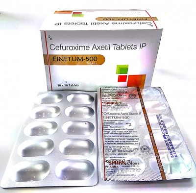 Cefuroxime  Axetil-500mg