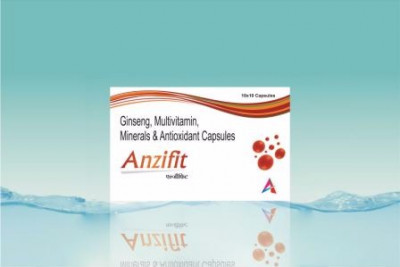 Ginseng, multivitamin, minerals and antioxidants capsules