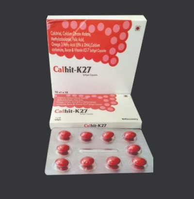 calcitriol, calcium citrate Malate, methylcobalamin, folic acid, omega 3 fatty acid, calcium carbonate, boron & vitamin k2-7