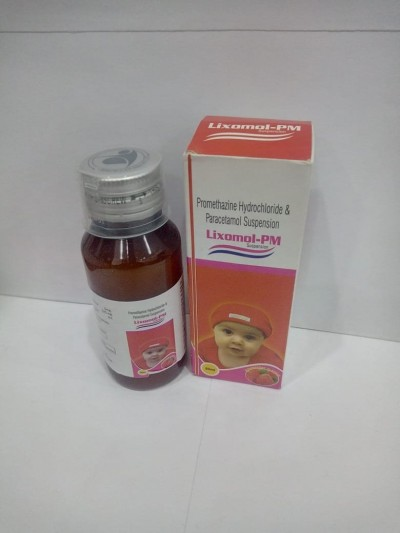PROMETHAZINE HYDROCHLORIDE & PARACETAMOL SUSPENSION.