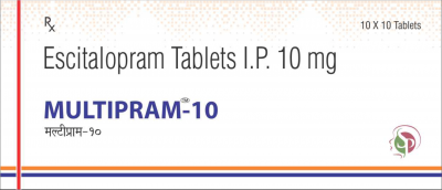 Escitalopram Tablets IP 10 mg