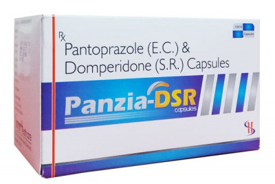PANTOPRAZOLE 40MG+DOMPERIDONE30MG SR