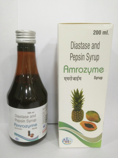 DIASTASE AND PEPSIN SYRUP