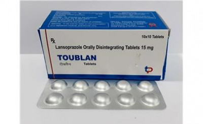 LANSOPRAZOLE ORALLY DISINTEGRATING TABLETS 15 MG