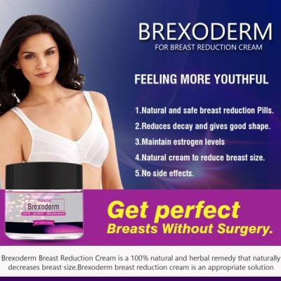 Brexoderm for breast reduction cream