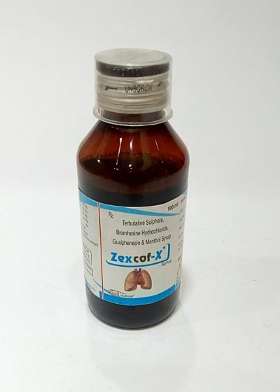TERBUTALINE SULPHATE, BROMHEXINE HYDROCHLORIDE,GUAIPHENESIN & MENTHOL SYRUP