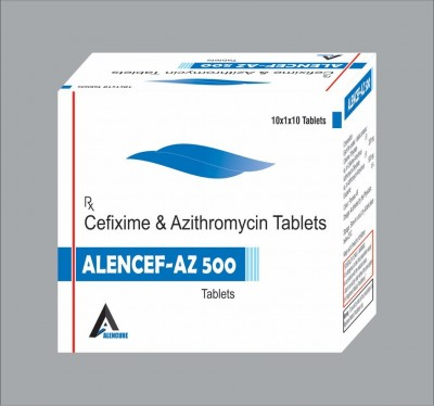 Cefixime Trihydrate 200 mg+ Azithromycin 500 mg