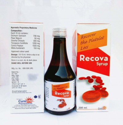 RECOVER THE PLATELET LOSS RECOVA SYRUP