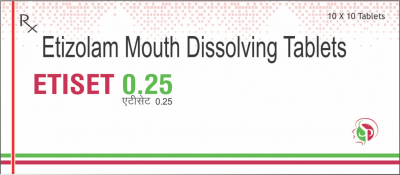 Etizolam Mouth Dissolving Tablets