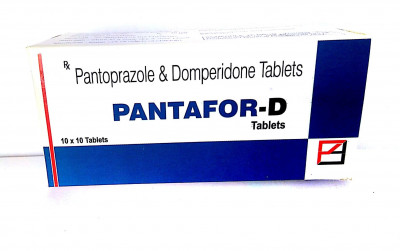 Pantoprazole – 40 mg + Domperidone – 10 mg