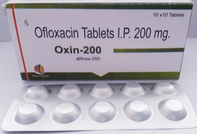OFLOXACIN TABLETS I.P. 200MG