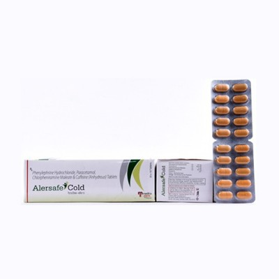 Phenylephrine HCL 10mg+Paracetamol 325mg+Chlorpheniramine Tablets