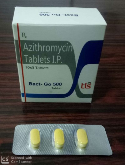 AZITHROMYCIN TABLETS I.P.