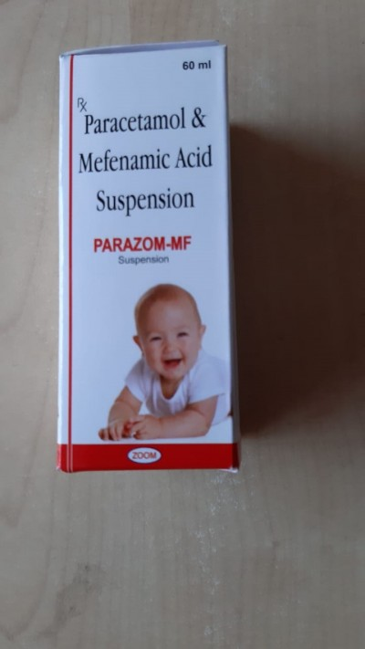 PARACETAMOL & MEFENAMIC ACID SUSPENSION( PARAZOM-MF)