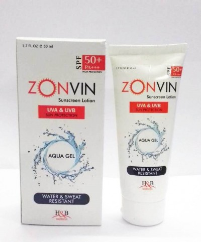 ZONVIN(SUNSCREEN LOTION) UVA & UVB SUN PROTECTION