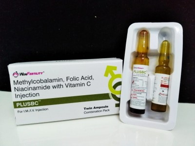 Methylcobalamin , folic acid , niacinamide with vitamin c injection