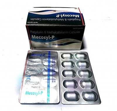 Pregabalin IP 75mg + methylcobalamin 750mcg + excipient q.s