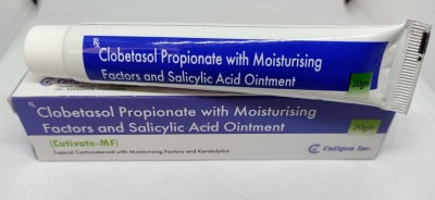 CLOBETASOL PROPIONATE WITH MOISTURISING FACTORS AND SALICYLIC ACID OINTMENT