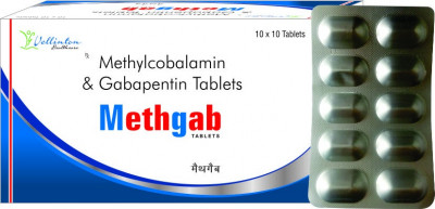 Methylcobalamin 500mcg+Gabapentin 300mg