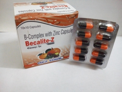 B-Complex with Zinc Capsules