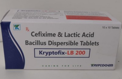 CEFIXIME & LACTIC ACID BACILLIUS DISPERSIBLE TABLETS