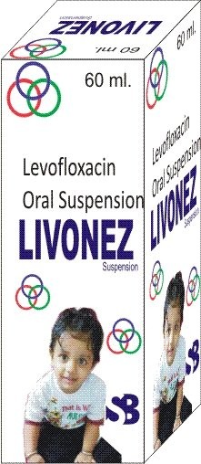 LEVOFLOXACIN ORAL  SUSPENSION.