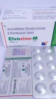LEVOCETIRIZINE DIHYDROCHLORIDE AND MONTELUKAST TABLETS IP