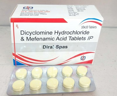DICLOMINE HYDROCHLORIDE & MEFENAMIC ACID TABLETS IP