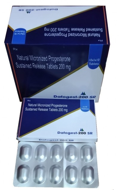NATURAL MICRONIZED PROGESTERONE SUSTAINED RELEASE TABLETS 200MG