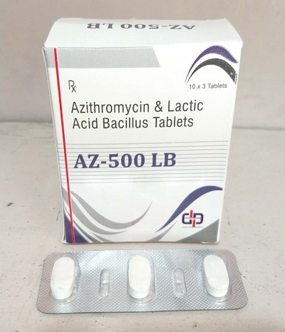 AZITHROMYCIN & LACTIC ACID BACILLUS TABLETS
