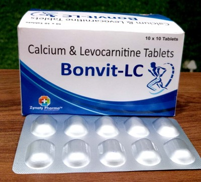 Calcium & Levocarnitione Tablets
