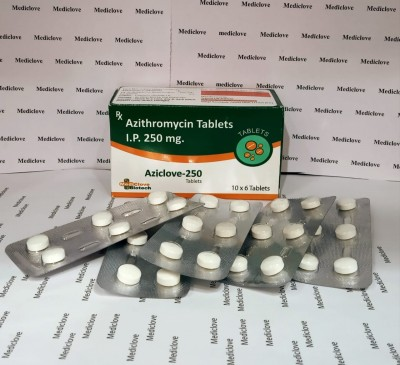 AZITHROMYCIN TABLETS I.P. 250MG