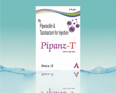 Manufacturer of Piperacilline 4gm+ Tazobactam 0.5gm
