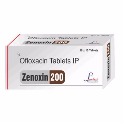 Manufacturer of Ofloxacin 200mg (ALU-ALU)