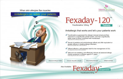 Fexaday-120 Tablets
