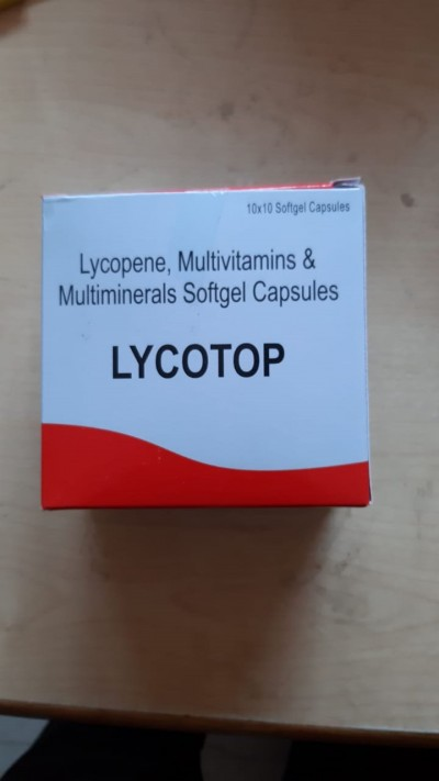 LYCOPENEMULTIVITAMIN & MULTIVITAMINS SOFTGEL CAPSULES(LYCOTOP)