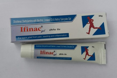 Diclofenac Diethylamine with Menthol Linseed oil & Methyl Salicylate Gel