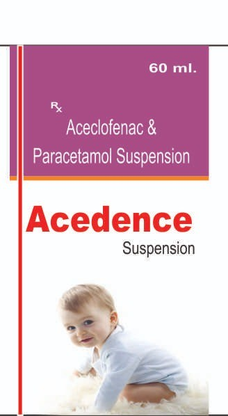ACECLOFENAC & PARACETAMOL SUSPENSION