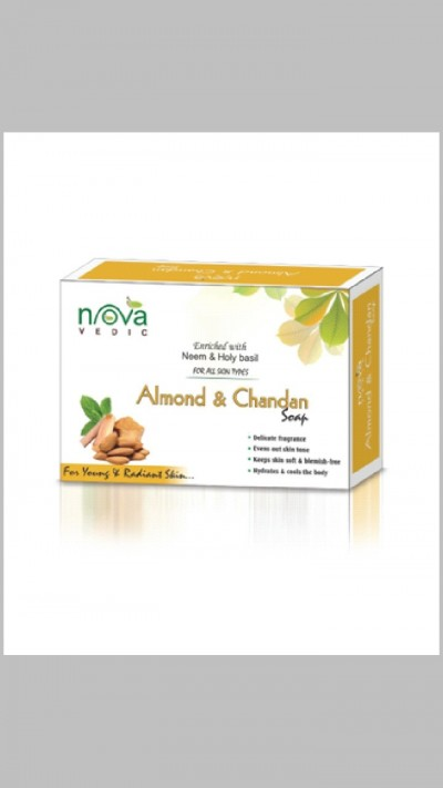 Enriched with neem holy basil Soap