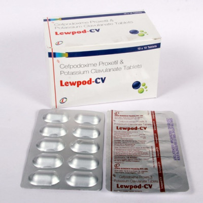 Cefpodoxime 200mg +Clavulanate 125mg