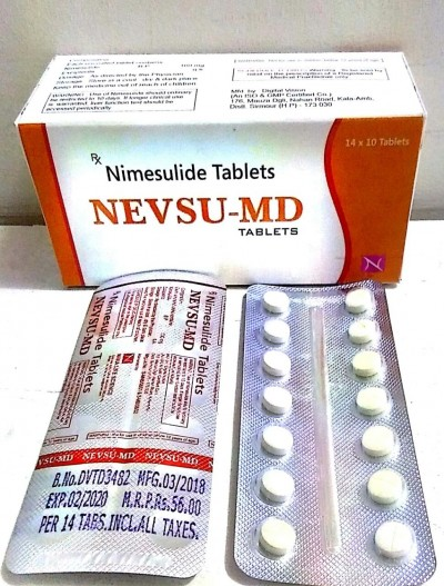 Nimesulide (Mouth Disolving )	100 mg