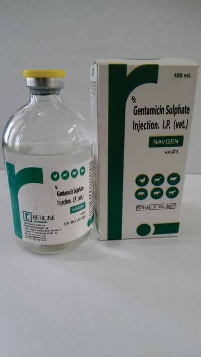 GENTAMICIN SULPHATE INJECTION I.P. (VET)