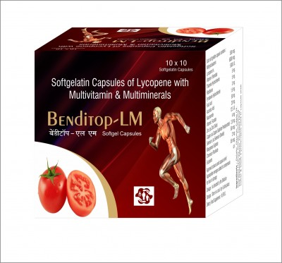 SOFTGELATIN  CAPSULES OF LYCOPENE WITH MULTIVITAMIN & MULTIMINERALS