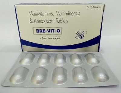 Multivitamin + Multiminerals + Antioxidant