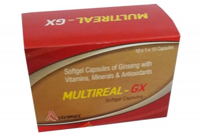 SOFTGEL CAPSULES OF GINSENG WITH VITAMINS, MINERALS & ANTIOXIDANT.